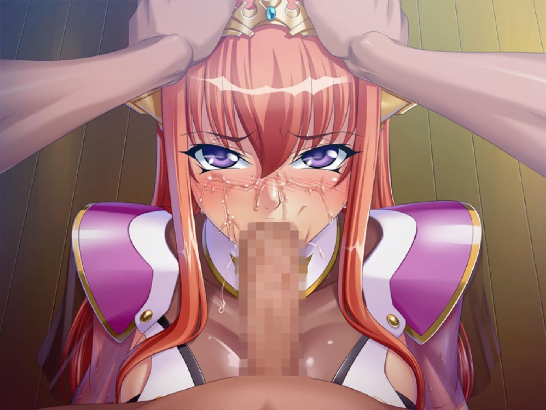 Hentai face fuck